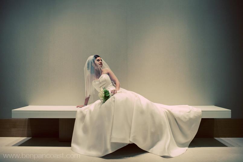 Wedding, bride, portrait, Hotel Intercontinental