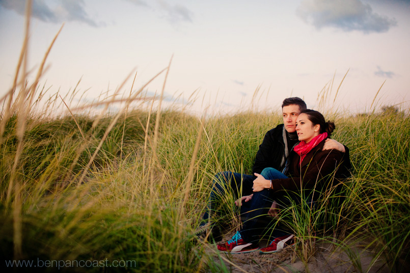Engagement pictures, unique engagement photos, dunes, lake michigan, beach, portrait, photographer