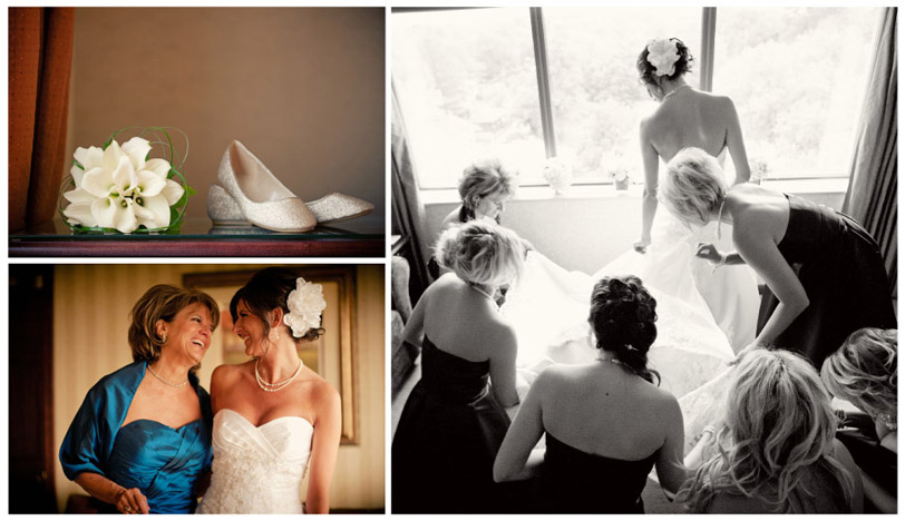 brides prep at the Boulevard Inn, Saint Joseph Mi