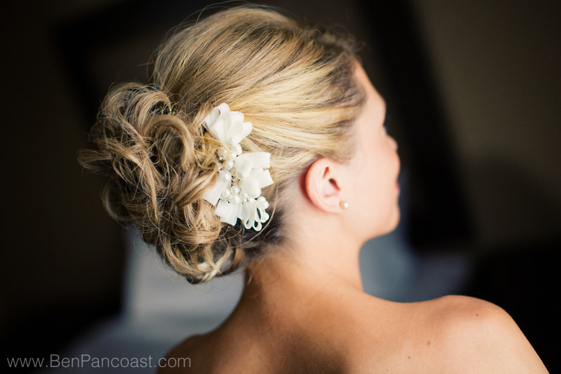 Salon Devoir in Saint Joseph Michigan is a great place for the wedding party to have their hair and makeup done