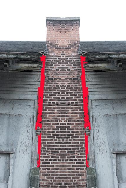 red cracks