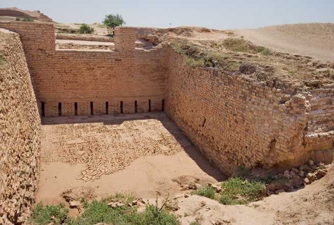 Ancient Water Treatment Facility