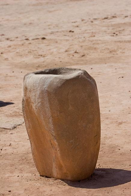 3000 years old stone barrel