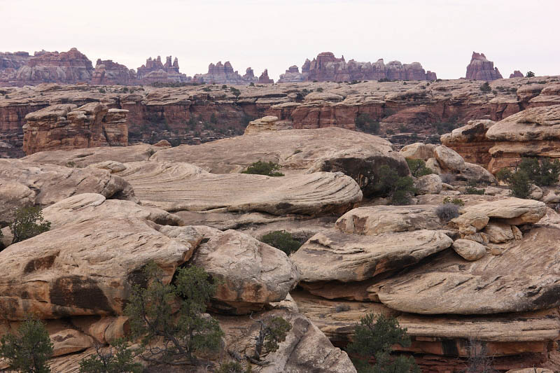 View from the Pothole Trail