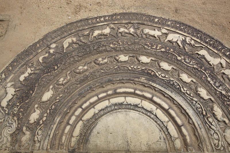 Anuradhapura, Moonstone at Mahasens Palace