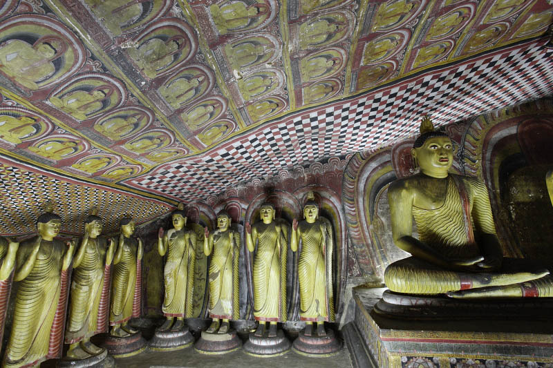 Dambulla, the Caves Temple