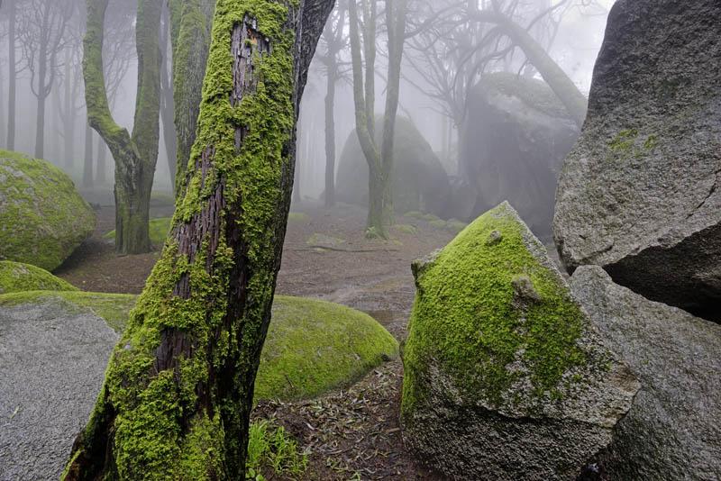Two Sisters Rocks, Sintra, Portugal
