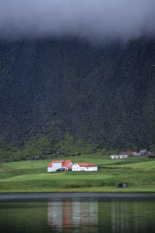Foggy day, Iceland