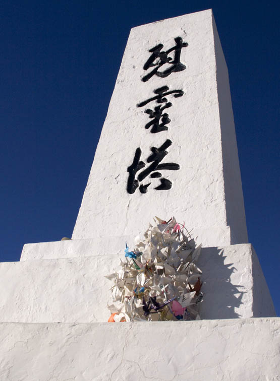 <B>My Cranes</B> <BR><FONT SIZE=2>Manzanar National Monument, California February 2007</FONT>