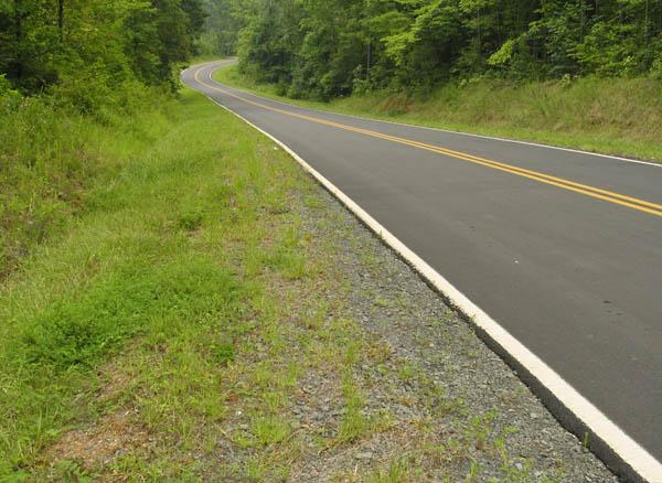 Highway near Dial Creek