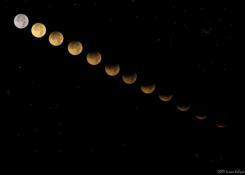 Lunar Eclipse August 2007