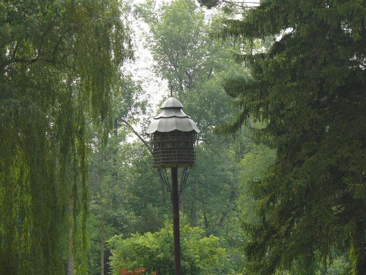 A Huge Birdhouse