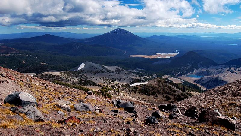 Mount Bachelor and Moraine Lake, #1