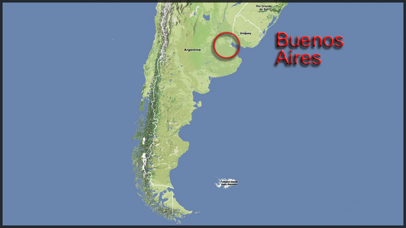 Map:  Buenos Aires