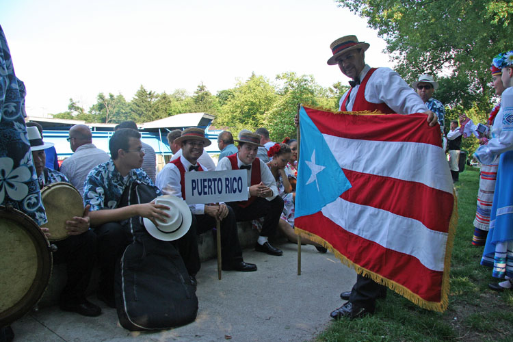 Folkloristic Ballet Guarionex from Morovis, Puerto Rico