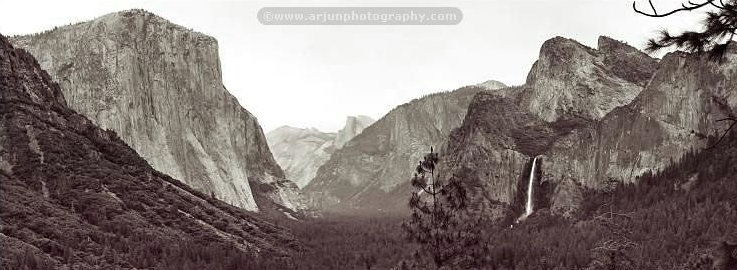 Yosemite Valley Tunnel View