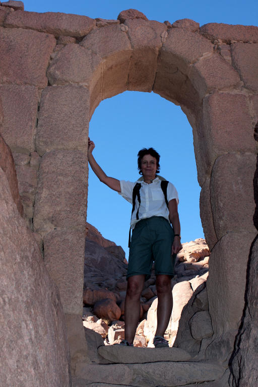Ruth, Mt Sinai ascent, the short route