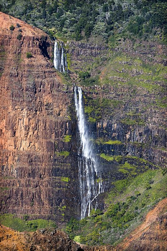 Waterfall at Waimea Canyon