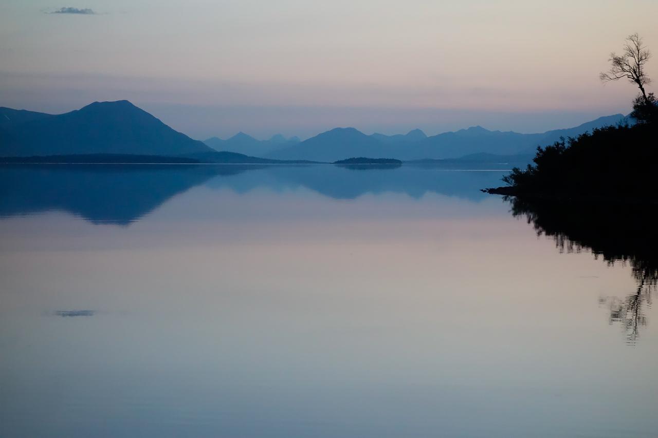 Alaska #1. Midnight Sunset