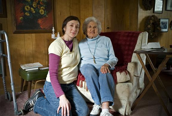 Nicole and Her Grandmother