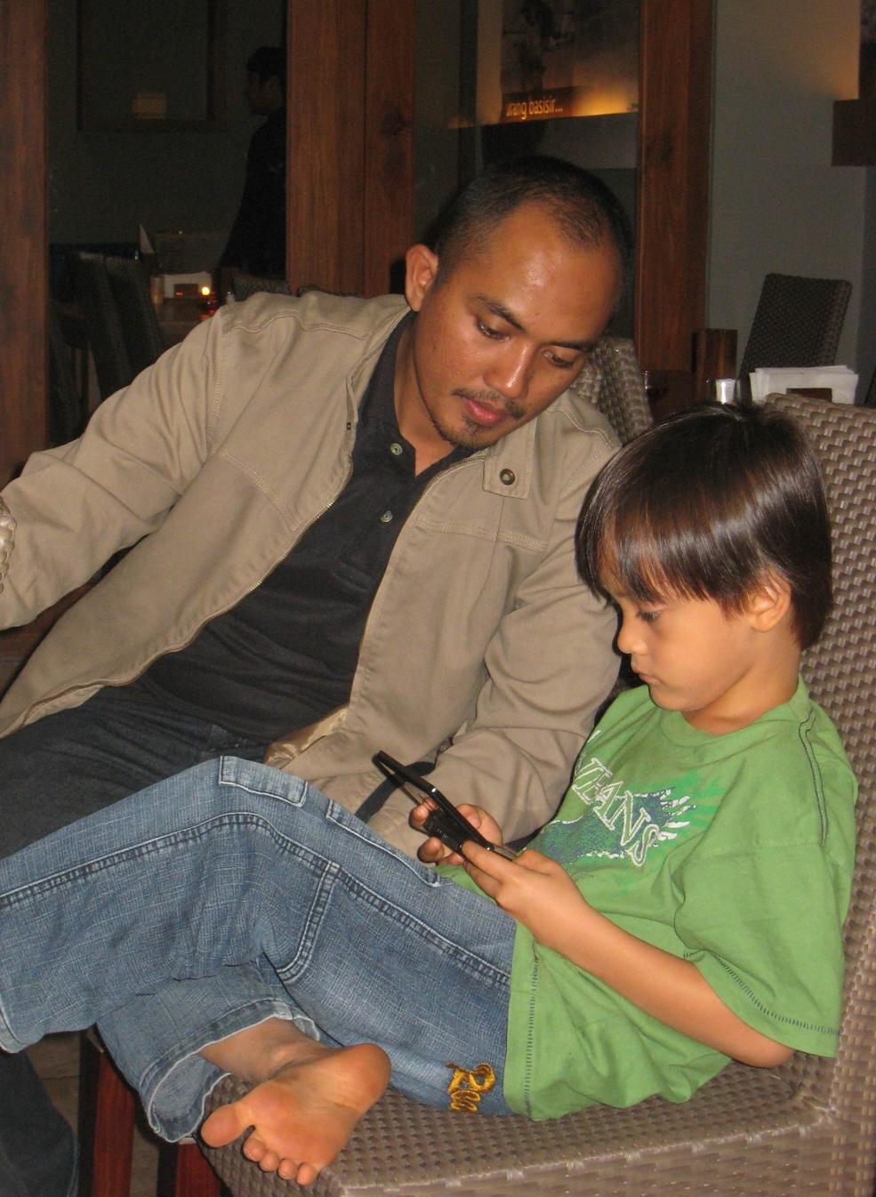 Uncle Salas and Wija
