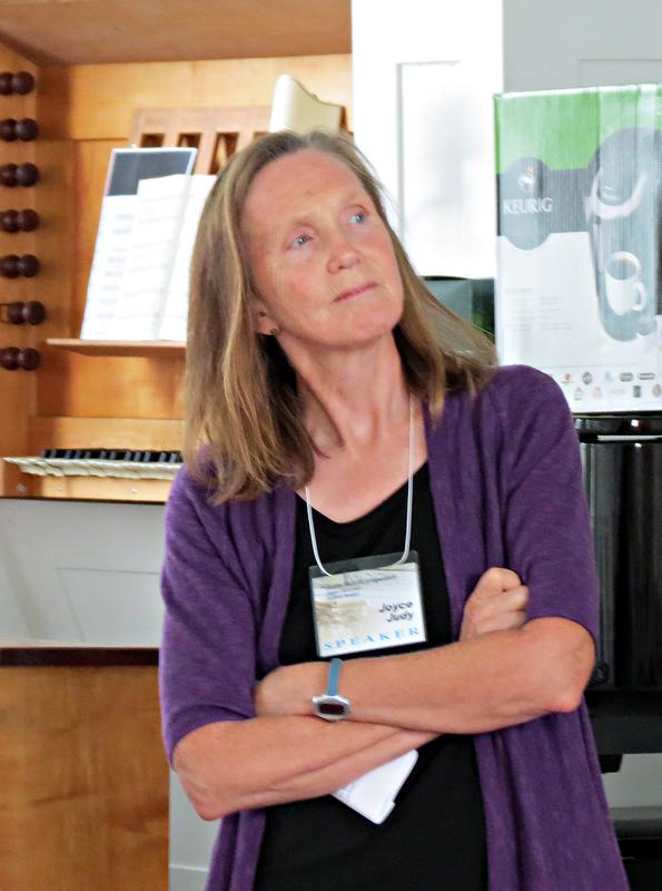 Joyce Judy, Another Speaker
