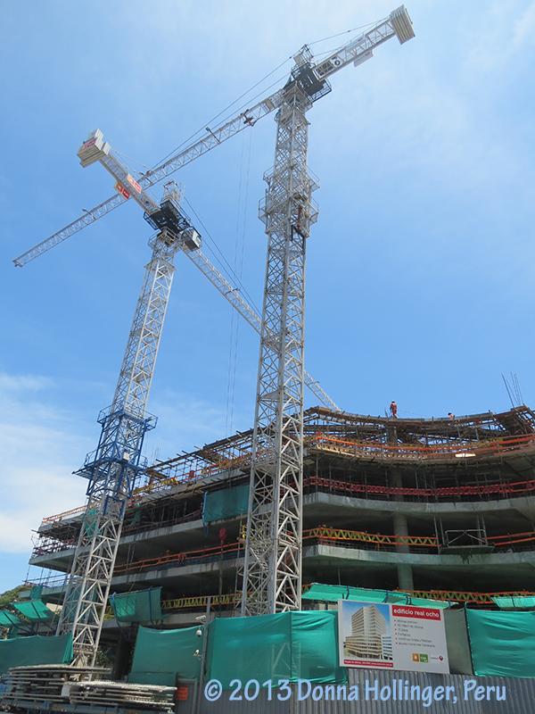 Building Cranes Opposite Swissotel
