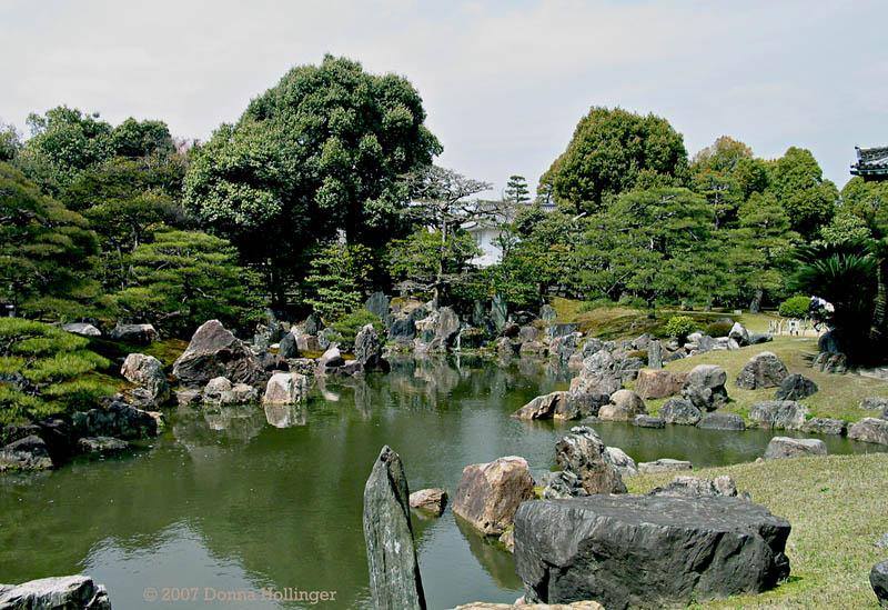 Pond and Rocks at Nijojo