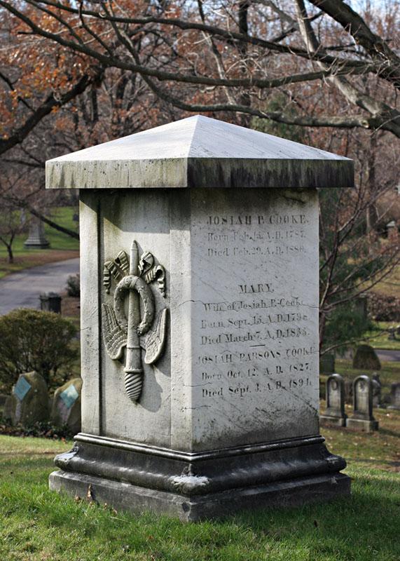 Grave of Josiah Cooke