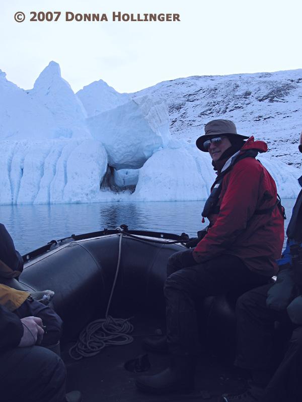 Near the Icebergs