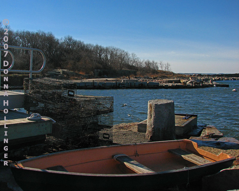 Dinghy at Pigeon Cove