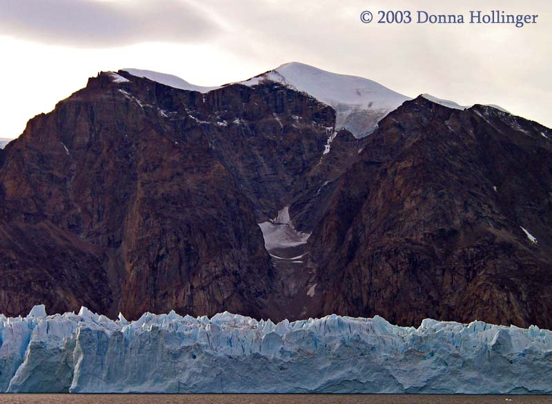 Glacier and Mountains