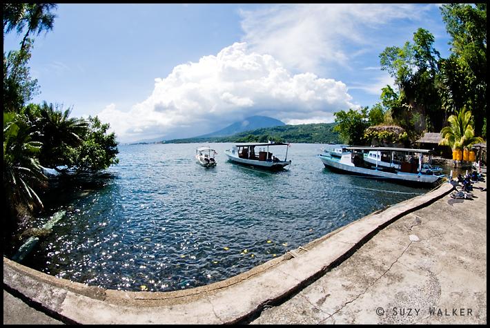 Lembeh Resort - dive boats