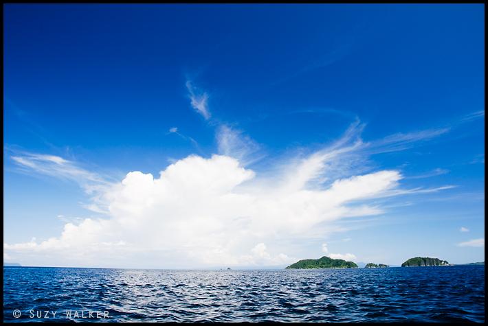 Raja Ampat clouds