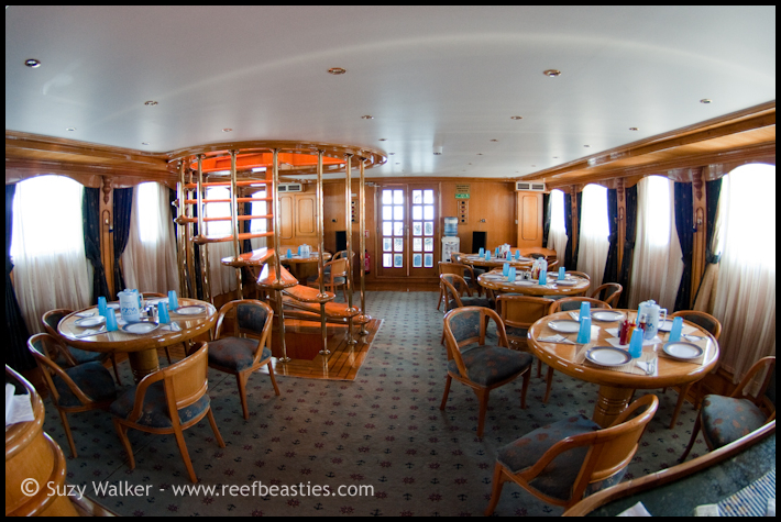 Whirlwind dining room