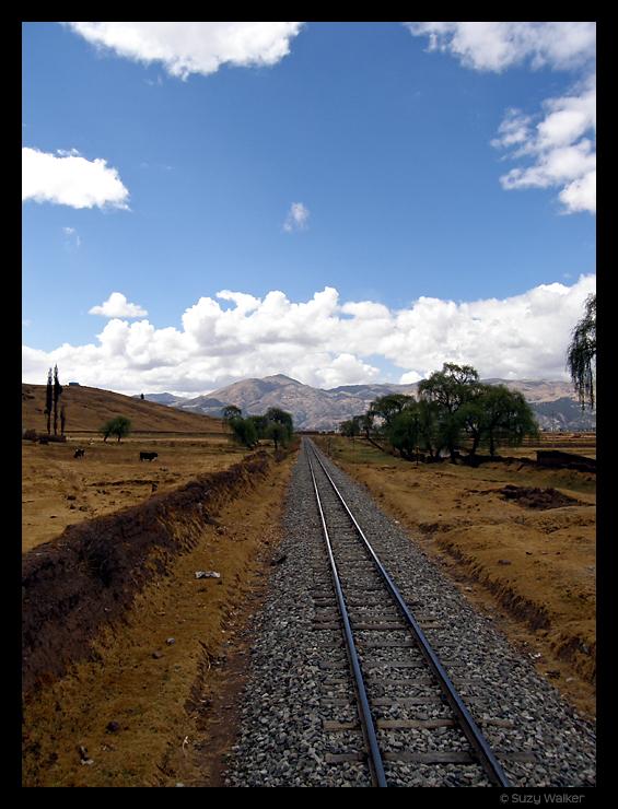 View from Hiram Bingham Train