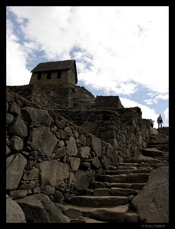 Caretakers hut, Machu Picchu