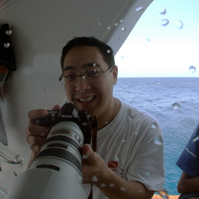 Mike with lens