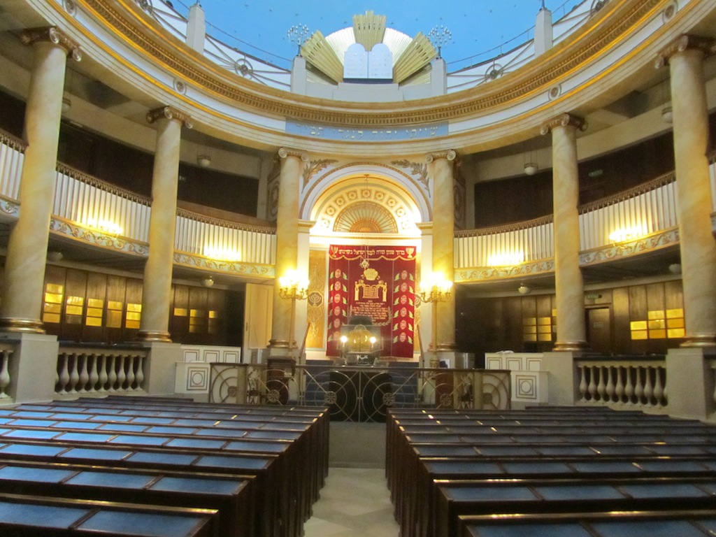 ...the only synagogue to survive the war