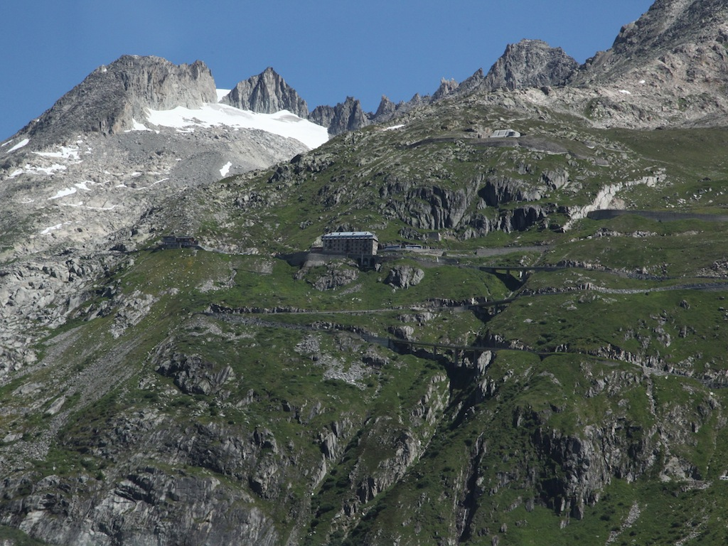 well be scaling the Alps by car today!