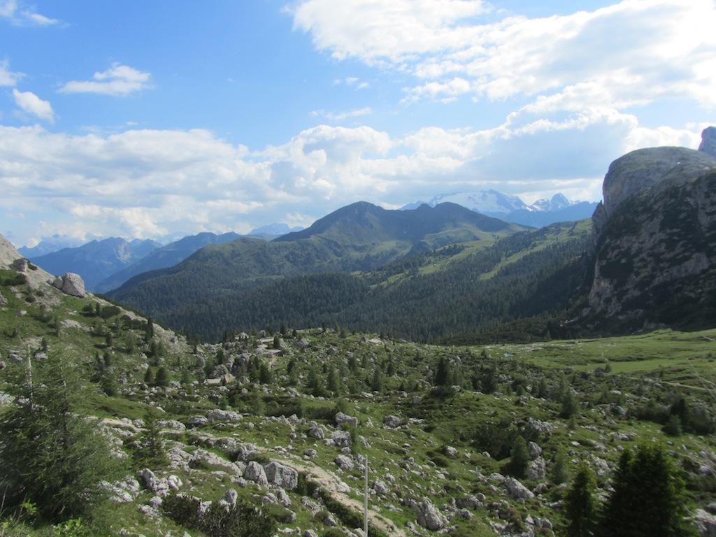 at the Passo Falzarego, above Cortina dAmpezzo