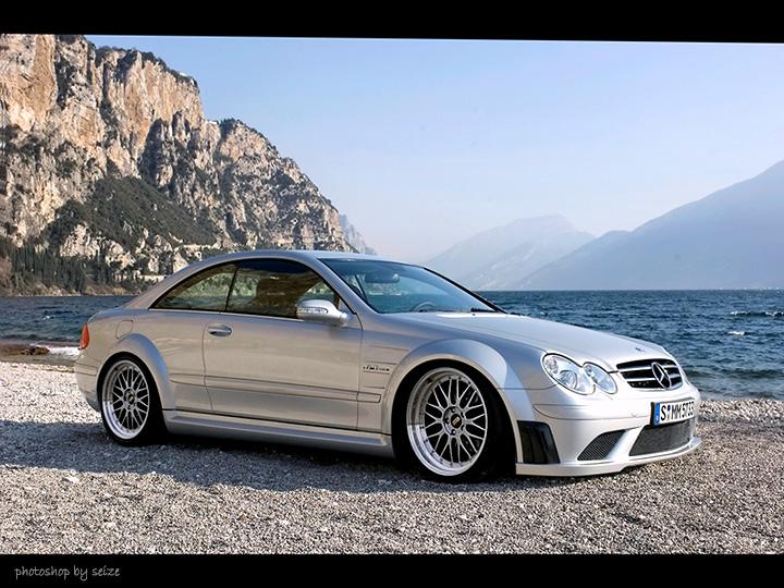 Clk63 Black Series With Bbs Lm Ps Job Mercedes Benz
