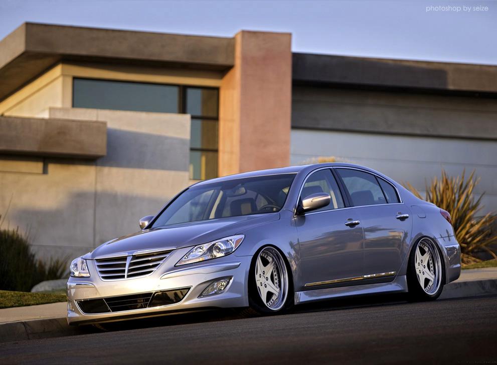 Hyundai San Diego >> VIP style Hyundai Genesis Sedan - ClubLexus - Lexus Forum ...