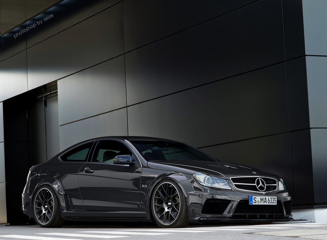 What i think the mercedes benz c63 amg black series coupe for Mercedes benz c63 amg coupe