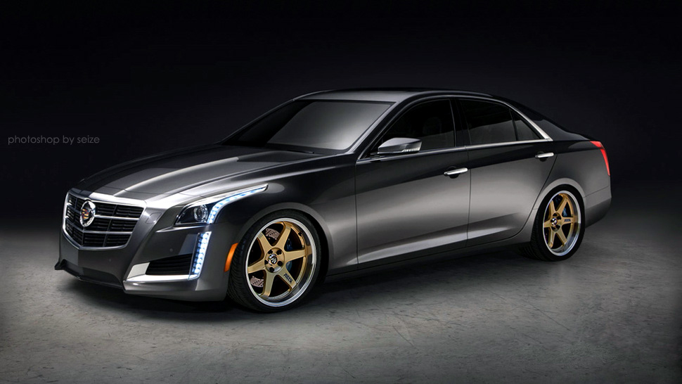 Cadillac Cts Rims >> 2014 Cadillac CTS on aftermarket wheels - ClubLexus ...