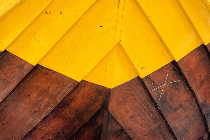 The yellow hull