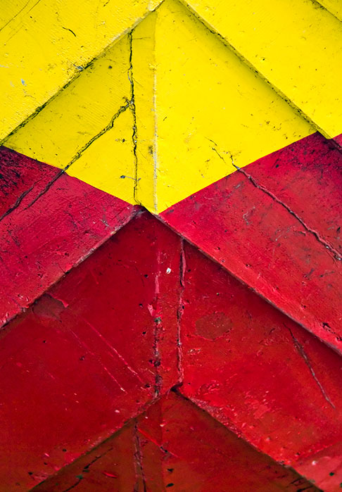 The yellow and red hull