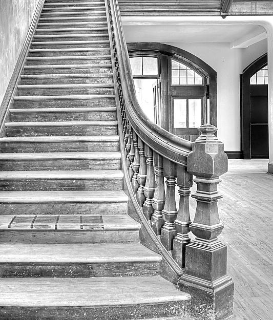 Stairway Under Renovation