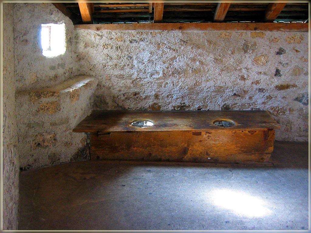 Cozy Arrangements For Two...Toilet In Chillon Castle, Switzerland