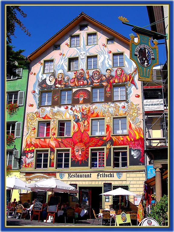 Restaurant in Lucerne, Switzerland